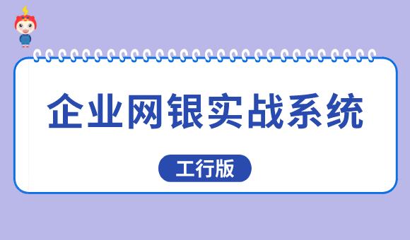 企业网银实战系统(工行版)